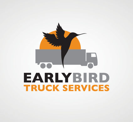 Truck services Logo Design