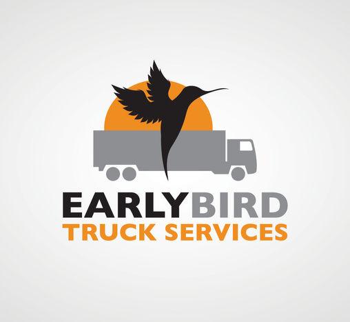 Truck services Logo Design