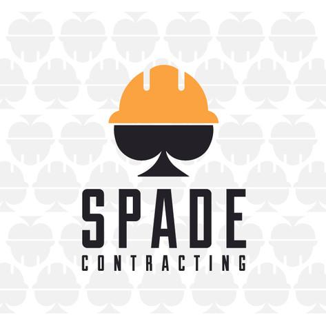 Spade Contracting Branding & Logo Design
