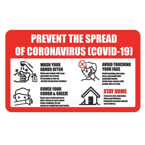 Prevent The Spread Signs & Vinyl