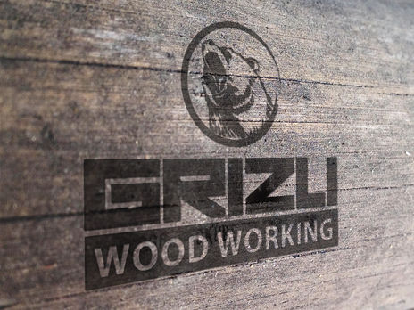 Logo design for wood working