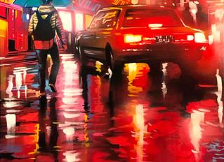 'Shinjuku' - Original painting