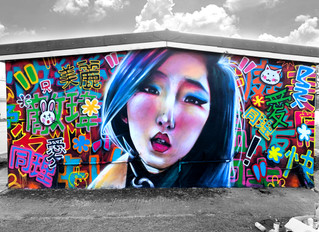 'China Colours' - new mural