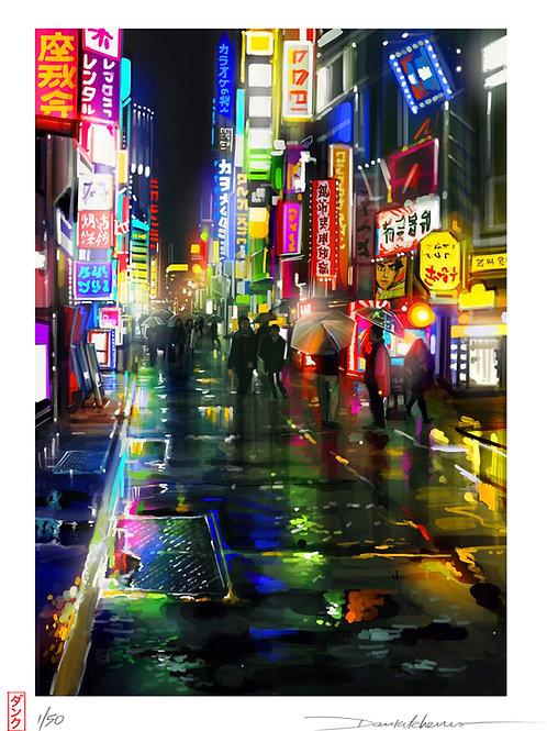 'Shinjuku' - Limited edition print