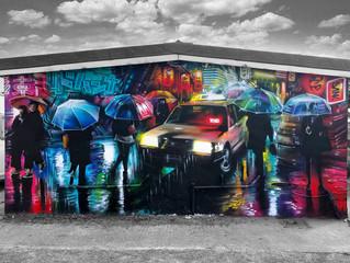 Mural 8 - 'Futuristic Tokyo'