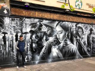 東京Tokyo A.I - New mural !