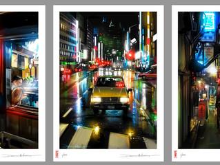 Tokyo Series prints!