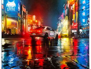 'Tokyo JDM' - Original painting