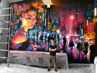 Chelsea, London - new mural