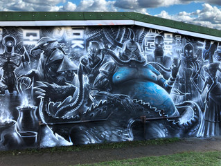 'Big Boss' - New mural!