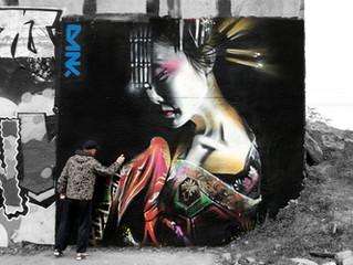 'Serenity' - New geisha mural!