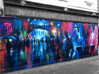 'Future Tokyo' - new London mural