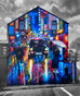 Huge new mural in Belfast!