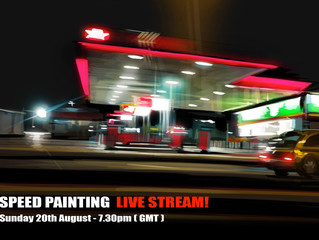 Speed painting Live Stream!