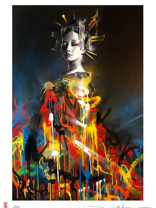 'Queen Of Colours' - Limited edition print