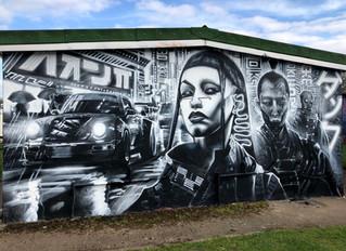 'Tokyo Street Racers' - New mural