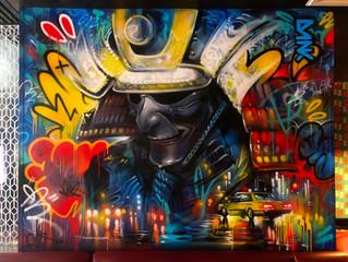 Interior mural commission