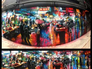 Hong Kong / Wan Chai -  new mural !