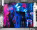 New mural in Brick Lane! 'Midnight Drive - ランボルギーニ'