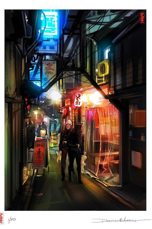 'Hidden Streets Of Tokyo' - Tokyo Series