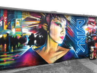 New mural work