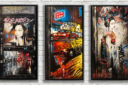 'Defaced Streets' - Brick Lanes