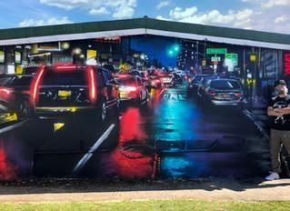 'Lockdown Sessions - mural 4'