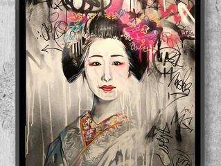 'Street Geisha' - Original art