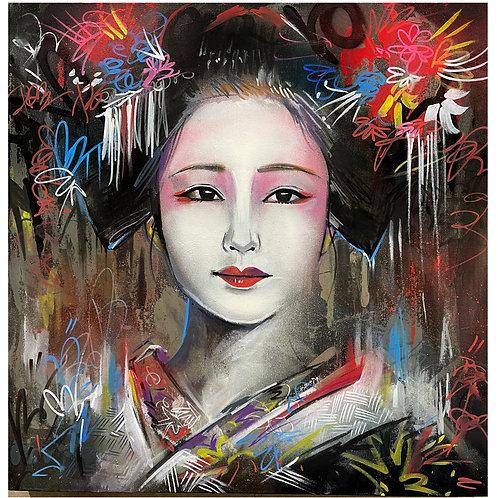 'Street Geisha' - Original painting
