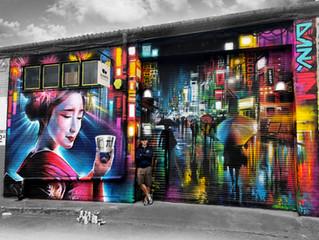 London - new mural!