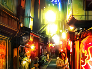 '裏通り - Back Streets' - Tokyo