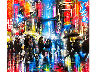 'Electric-City' - New limited edition print