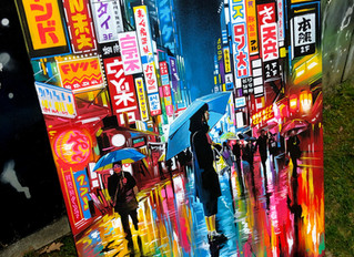 'Lost In Translation' - New original painting on canvas
