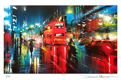 'London Lights' - limited edition print