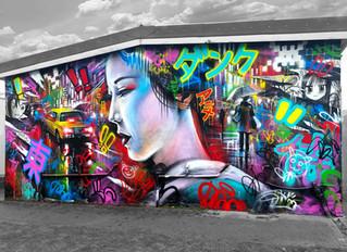 'Tokyo Dreams' - mural