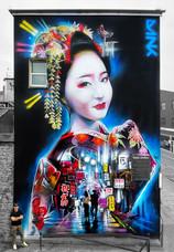 New huge mural in Weston Super Mare!