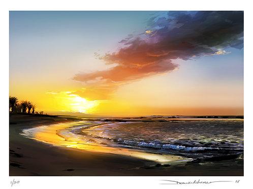 'Sunrise - Cyrpus' - Limited edition print
