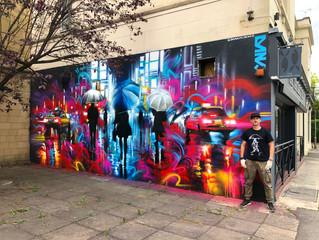 Cheltenham, new mural !