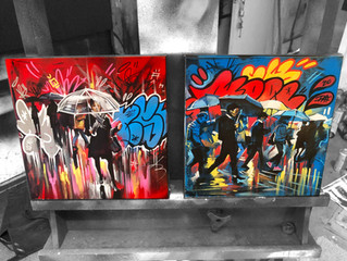 New small works on canvas