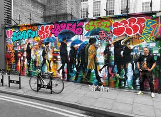 'Tokyo Graffiti' - New mural
