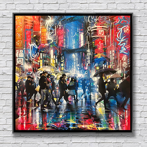 SOLD 'Electric-City Tokyo'