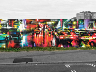 'Underpass' - new mural in Essex!