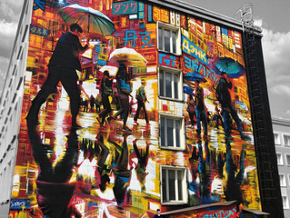 Moscow - new huge mural!