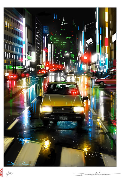 'Tokyo Taxi' - Tokyo series
