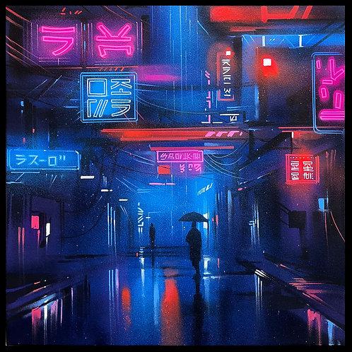 'Electricity' - Original painting