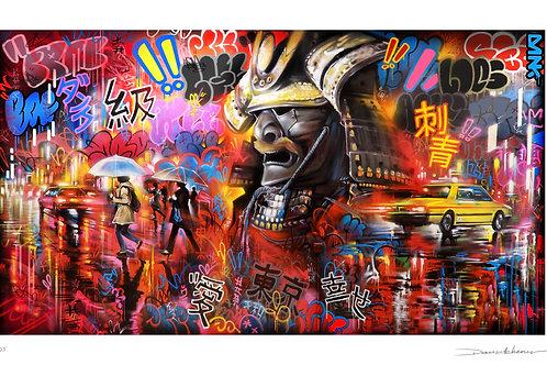 'Tokyo Warrior' - Limited edition print
