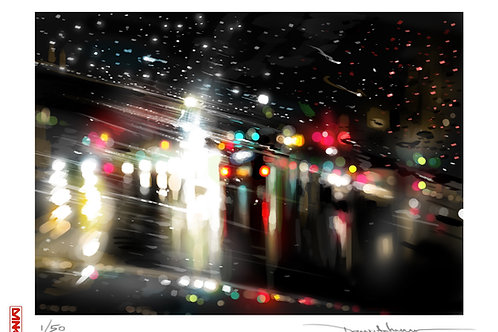 'Street Lights' - Limited edition print