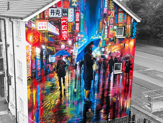 'Lost In Tokyo' - New mural!