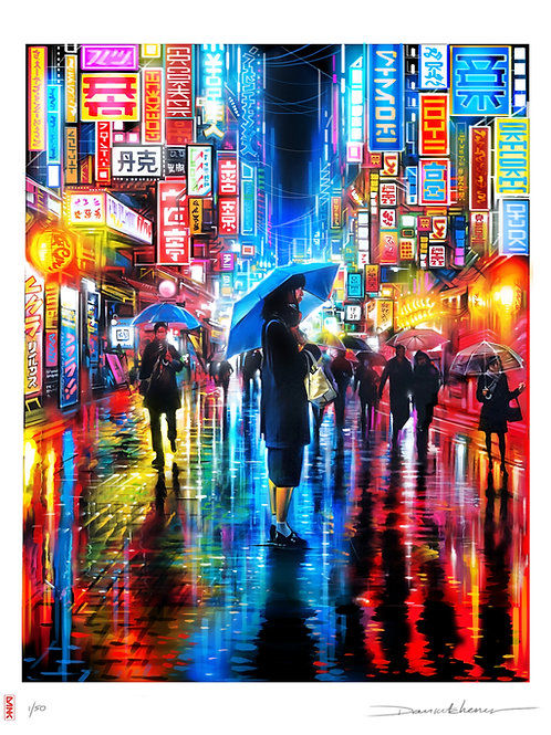 'Lost In Translation' - Limited Edition print
