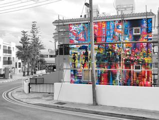 Cyprus / Ayia Napa mural!